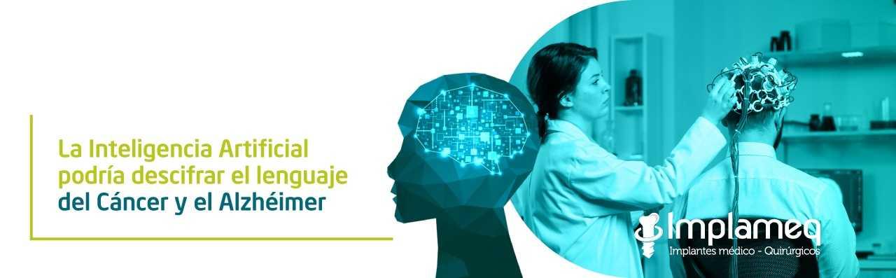 La inteligencia artificial podría descifrar el lenguaje del cáncer y el alzhéimer